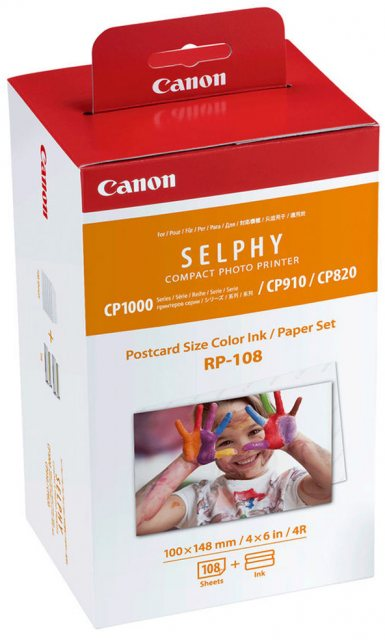 Canon Canon RP-108 Print Cartridge, 108 sheets