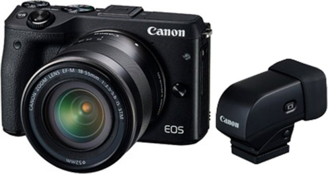 Canon Canon EOS M3 EF-M 18-55mm View Finder Kit