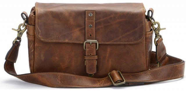 Ona Ona Bowery Messenger Bag - Antique Cognac Leather