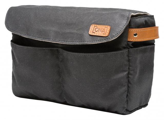 Ona Roma Camera Bag Insert Bag Organiser Black Castle Cameras
