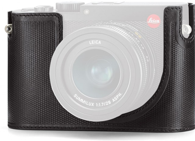Leica Leica Protector for Leica Q, black leather