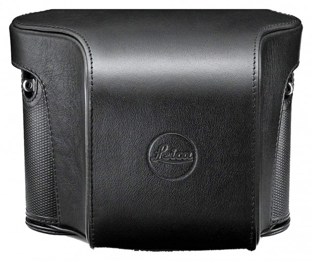 Leica Leica Ever ready case for Leica Q, black leather