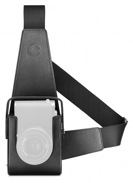 Leica Leica Holster for Leica Q, black leather
