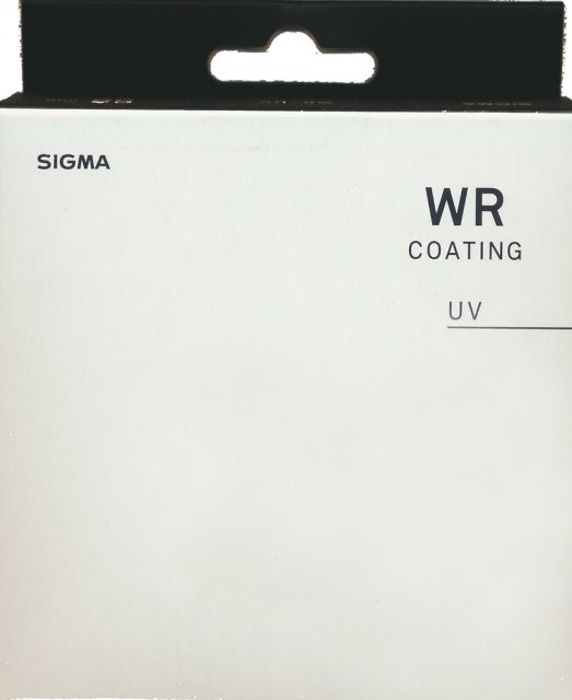 Sigma Sigma 86mm WR UV Filter