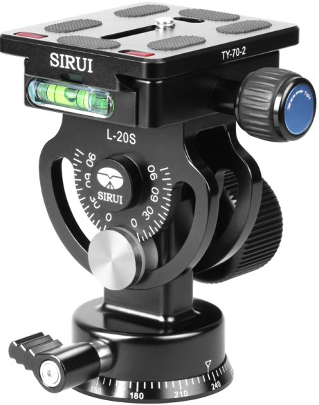 Sirui Sirui L-20S panoramic tilt head with TY-60 Plate