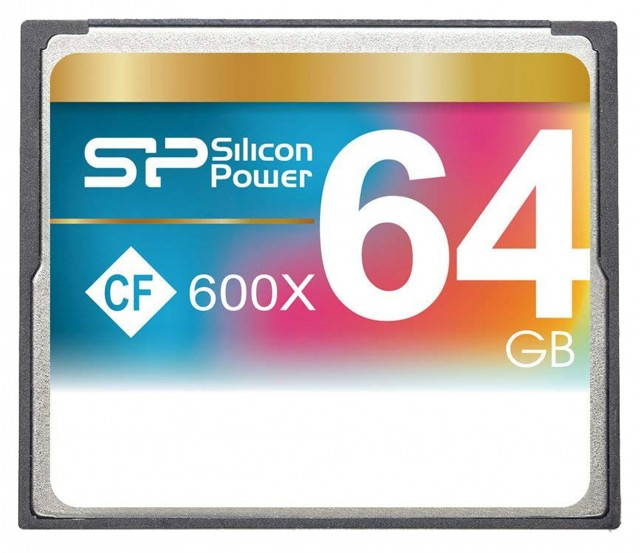 Silicon Power Silicon Power Compact Flash, 64 gb x600 Speed