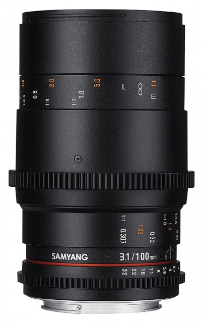 Samyang Samyang 100mm Macro T3.1 Vdslr for Micro Four Thirds