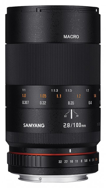 Samyang Samyang 100mm Macro f2.8 for Canon EOS