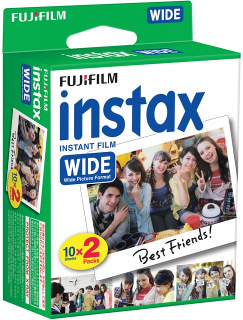 Fujifilm Fujifilm Instax Wide Film, 10x twin packs