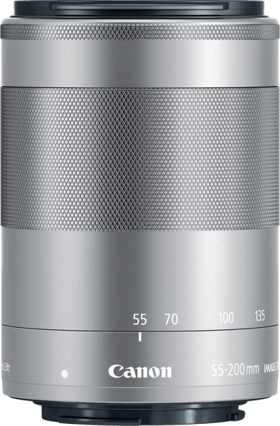 Canon Canon EF-M 55-200mm f4.5-6.3 IS STM, Silver