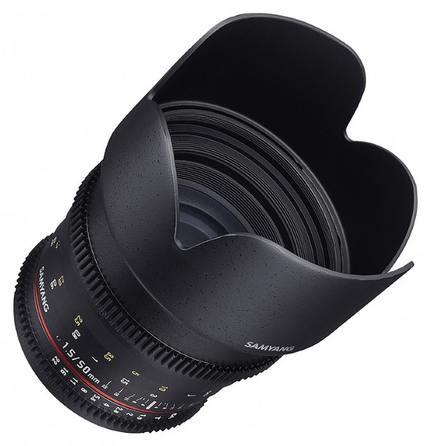 Samyang Samyang 50mm T1.5 VDSLR lens for Micro Four Thirds