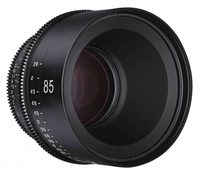 Samyang Xeen Samyang Xeen 85mm T1.5 Cine lens for Micro Four Thirds