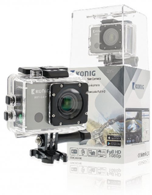 Konig Konig Full HD action cam GPS and WiFi