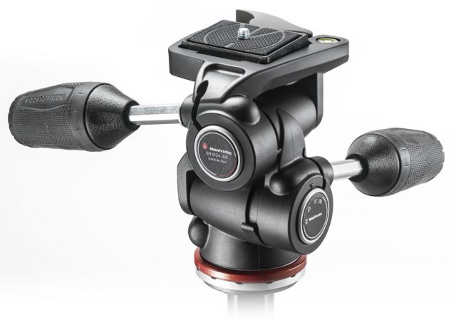 Manfrotto Manfrotto MH804-3W Adapto 3 way head, RC2