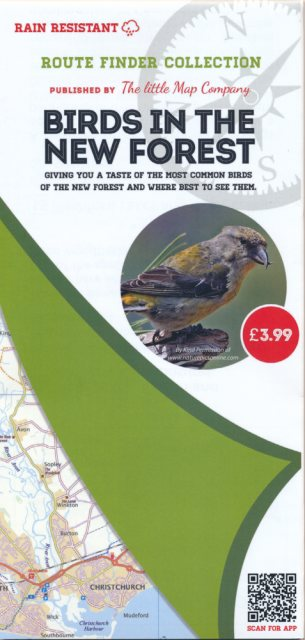Sundry Little Map Birds in the New Forest