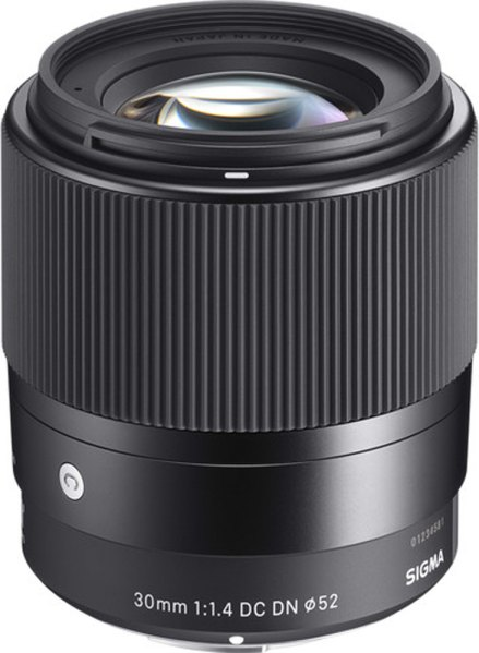 Sigma Sigma 30mm f1.4 DC DN Contemporary lens for Sony E
