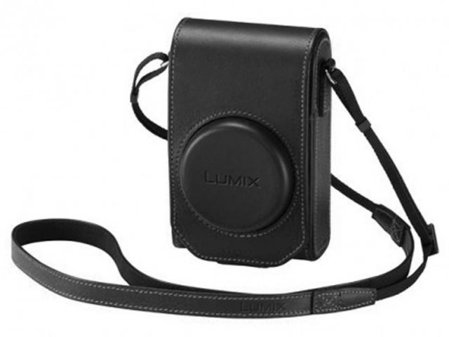 Panasonic Panasonic DMW-PHS84XEK Black Leather Case for TZ100