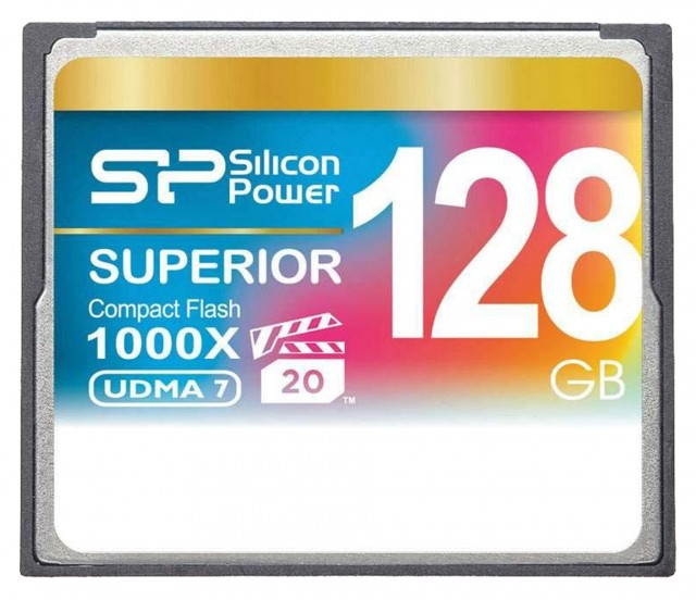 Silicon Power Silicon Power Compact Flash, 128 gb x1000 Speed