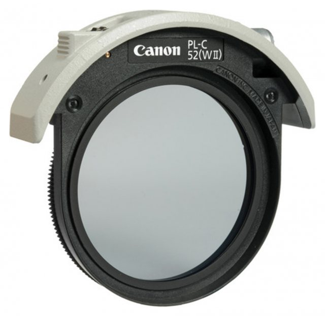 Canon Canon 52mm Drop-in circular polarising filter II