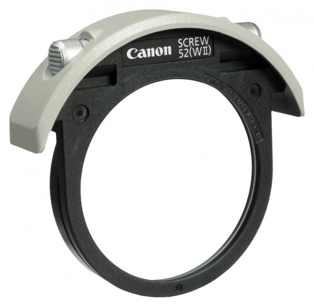 Canon Canon 52mm Drop-in screw filter holder II