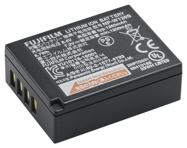 Fujifilm Fujifilm NP-W126S Lithium-Ion Rechargeable Battery