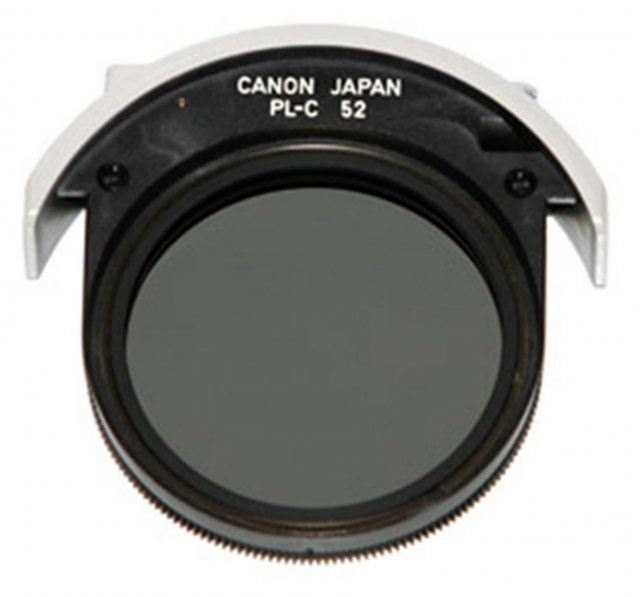 Canon Canon 52mm Drop in circular polarising