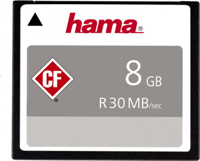 Hama Hama Compact Flash card, 8 gb, 30mb/s