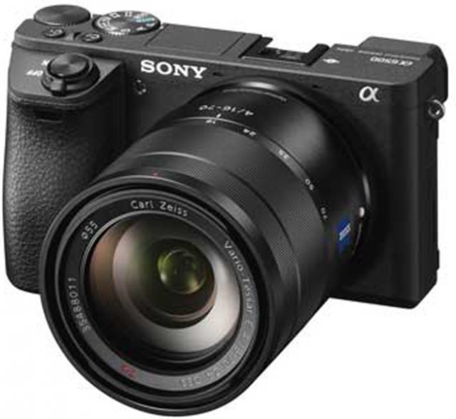 Sony Sony Alpha 6500, black, 16-70 Zeiss T*