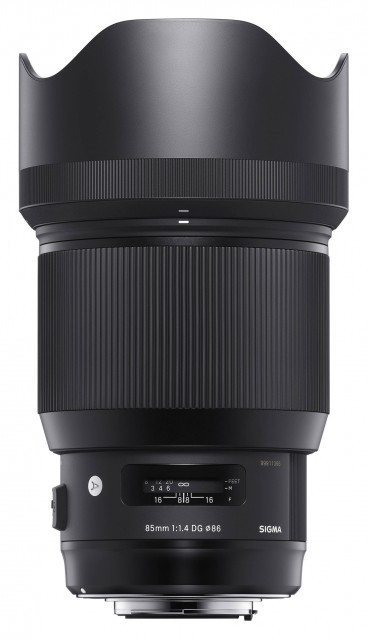 Sigma Sigma 85mm f1.4 DG HSM ART lens for Canon EOS