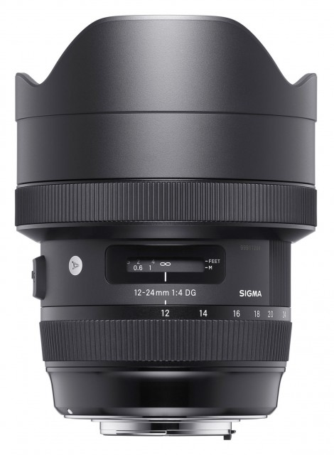 Sigma Sigma 12-24mm f4 DG HSM ART lens for Canon EOS