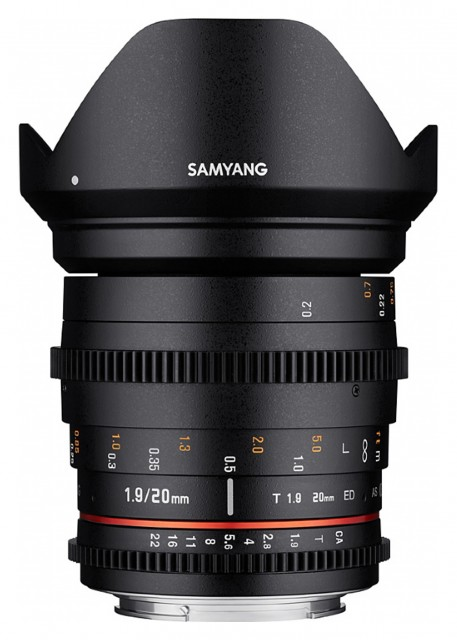Samyang Samyang 20mm T1.9 VDSLR for Micro Four Thirds