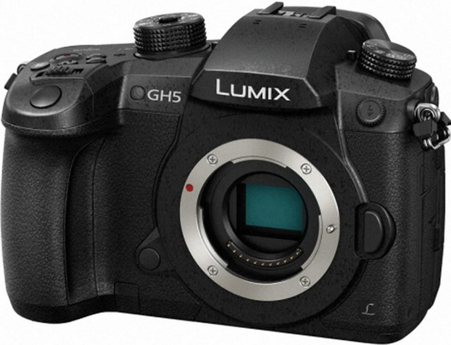 Panasonic Panasonic Lumix DC-GH5 Mirrorless Camera Body