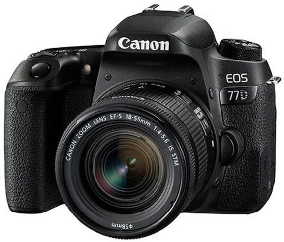 Canon Canon EOS 77D, 18-55mm F4-5.6 IS STM