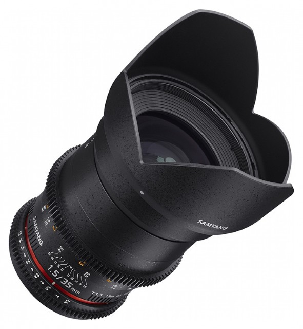Samyang Samyang 35mm T1.5 VDSLR II for Sony FE