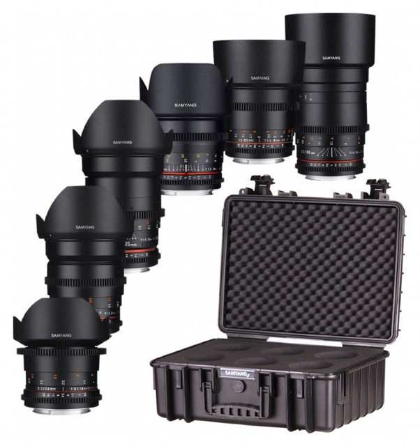 Samyang Samyang VDSLR Kit 5 (6 Lenses) for Canon EOS
