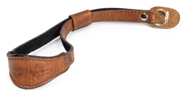 Ona Ona Kyoto Wrist Strap Antique Cognac Leather