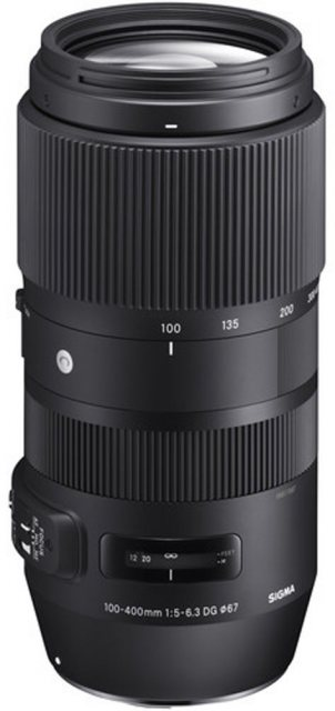 Sigma Sigma 100-400mm f5-6.3 DG OS HSM Contemporary lens for Canon EOS