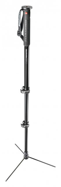 Manfrotto Manfrotto XPRO Monopod Prime Base Aluminium, 3 Section