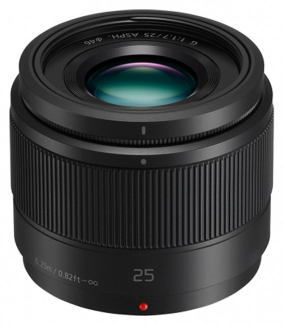 Panasonic Panasonic 25mm F1.7 Lumix G ASPH lens, black