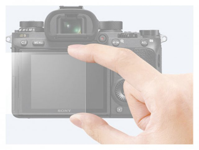 Sony Sony PCK-LG1 Screen Protector for Alpha 9 and A7RIII