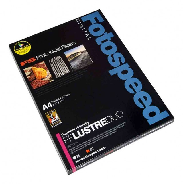 Fotospeed Fotospeed PF Lustre Duo, 280gsm, A4 - 50 sheets