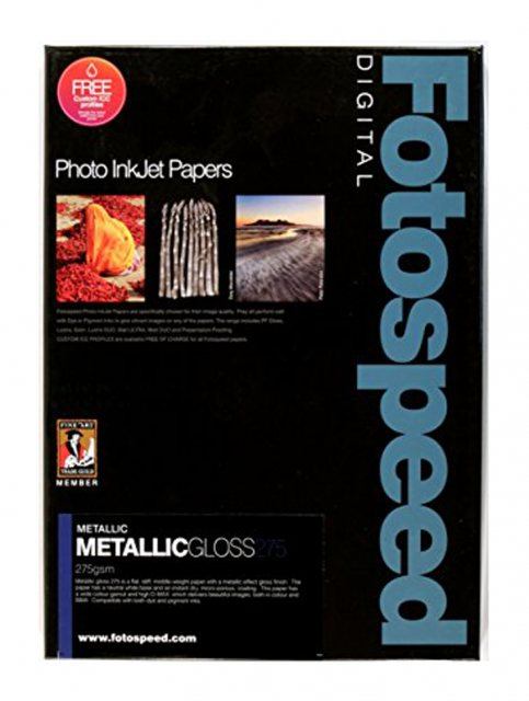 Fotospeed Fotospeed Metallic Gloss, 275gsm, A4 - 25 sheets
