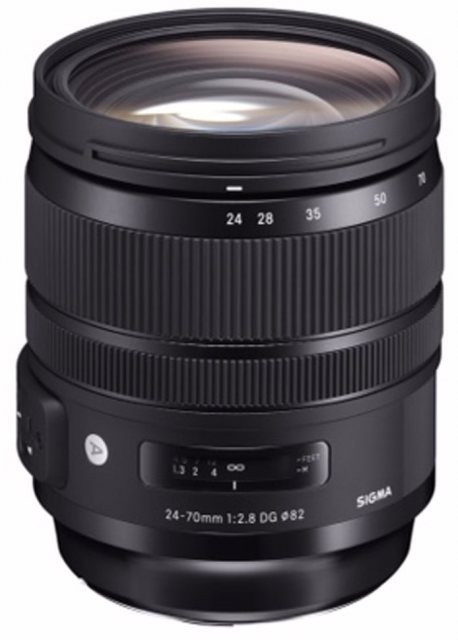 Sigma Sigma 24-70mm F2.8 DG OS HSM Art lens for Canon EOS