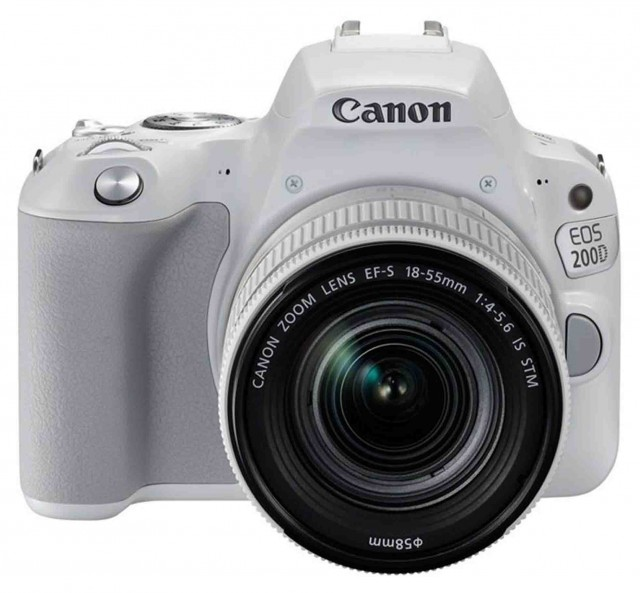 Canon Canon EOS 200D, 18-55mm IS STM White