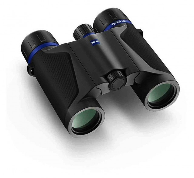Zeiss Zeiss Terra ED 10x25 T* Pocket Binoculars, Black/Grey