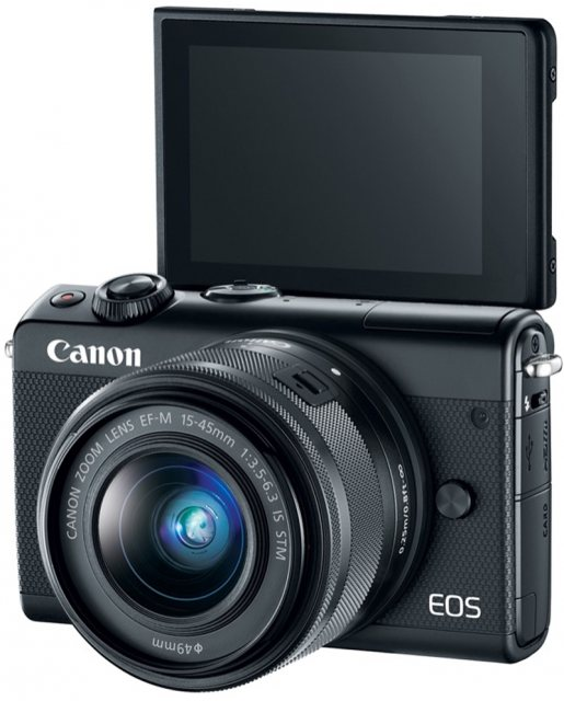 Canon Canon EOS M100 with 15-45mm Limited Edition, Black