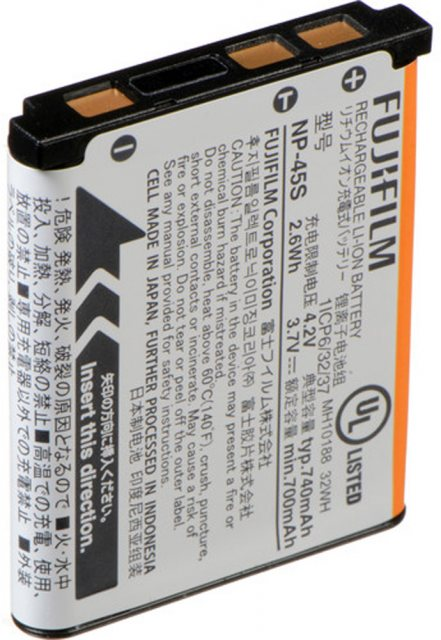 Fujifilm Fujifilm NP-45S Lithium-Ion Rechargeable Battery