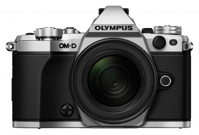 Olympus Olympus OM-D E-M5 Mark II Silver Camera with Black 12-40mm Pro Lens