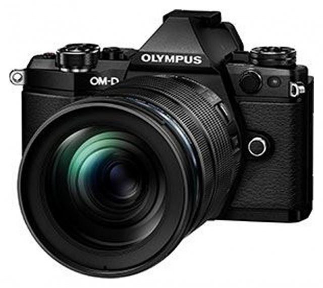 Olympus Olympus OM-D E-M5 Mark II with 12-100mm IS Pro Lens, black
