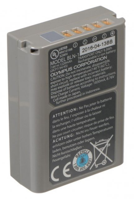 Olympus Olympus BLN-1 Lithium Ion Battery